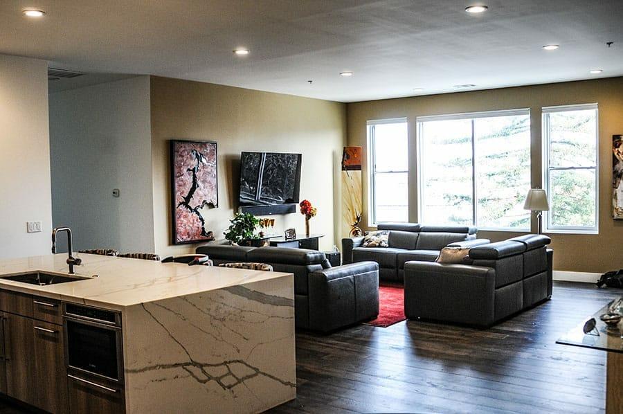 Rinnovo Group Medical Construction Services | Sacramento California | Living Room